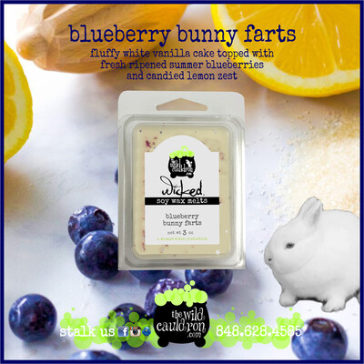 Blueberry Bunny Farts Wicked Wax Melts
