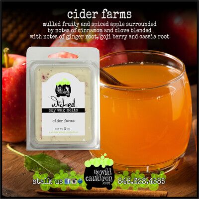 Cider Farms Wicked Wax Melts