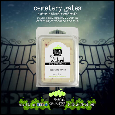 Cemetery Gates Wicked Wax Melts