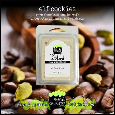 Elf Cookies Wicked Wax Melts