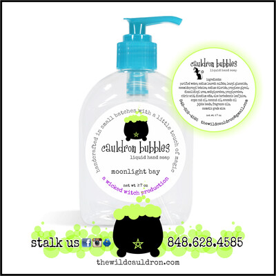 Moonlight Bay Cauldron Bubbles Hand Soap