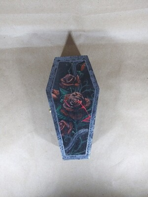 Blood Roses Coffin