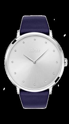 HUGO BOSS Jillian White Dial Watch -naisten rannekello