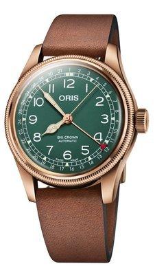 ORIS Big Crown Bronze Pointer Date -miesten rannekello