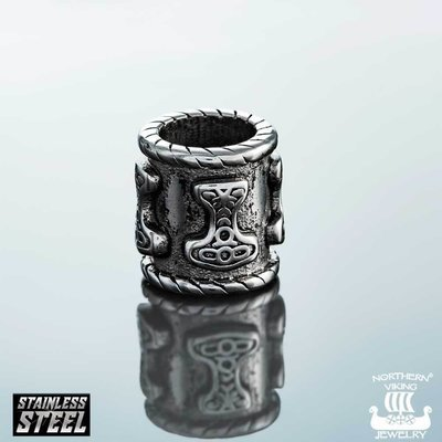 NORTHERN VIKING JEWELRY 8mm Thorin Vasara -partakoru