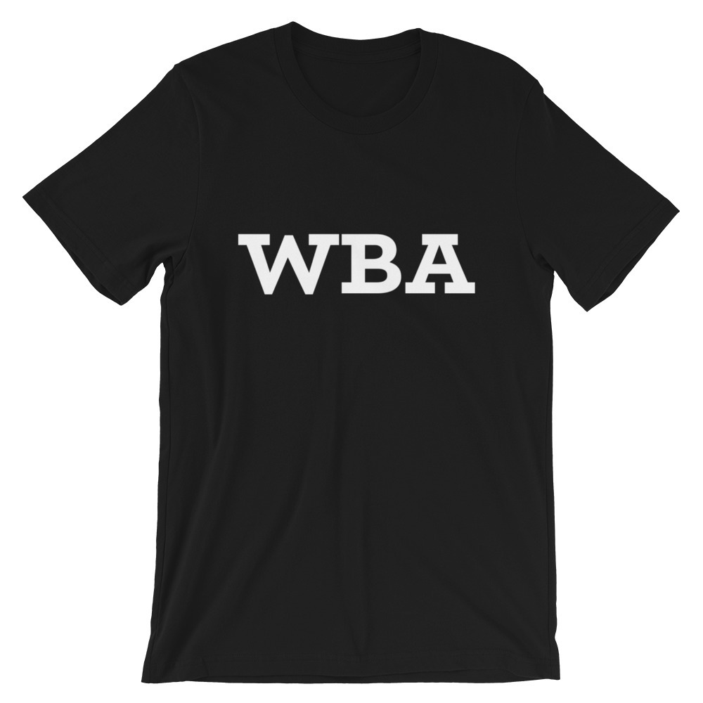 WBA Classic SS Tee 00115
