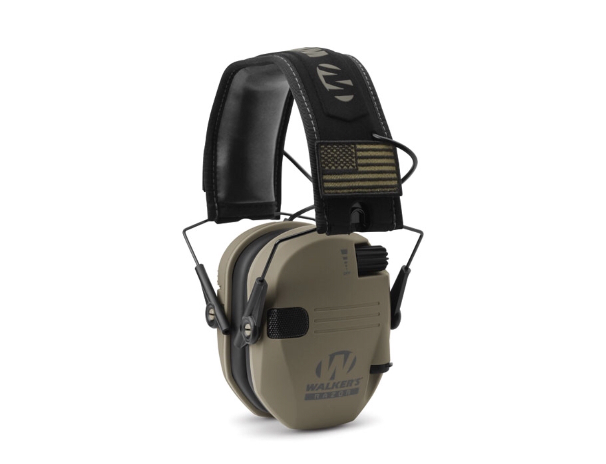 Walker's - Razor Slim Shooters Electronic Muffs - Patriot Series 00039