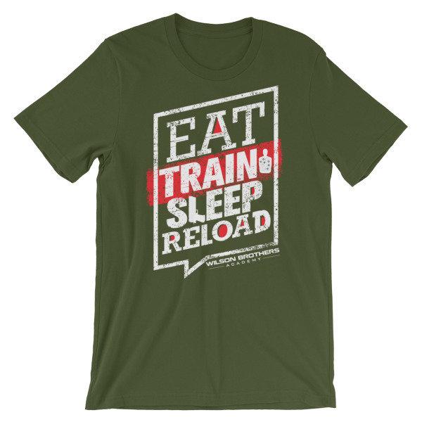 Eat.TRAIN.Sleep.Reload - Unisex T-Shirt 00057