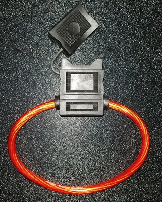 MAXI Fuse Holder With Cover 8 Gauge
