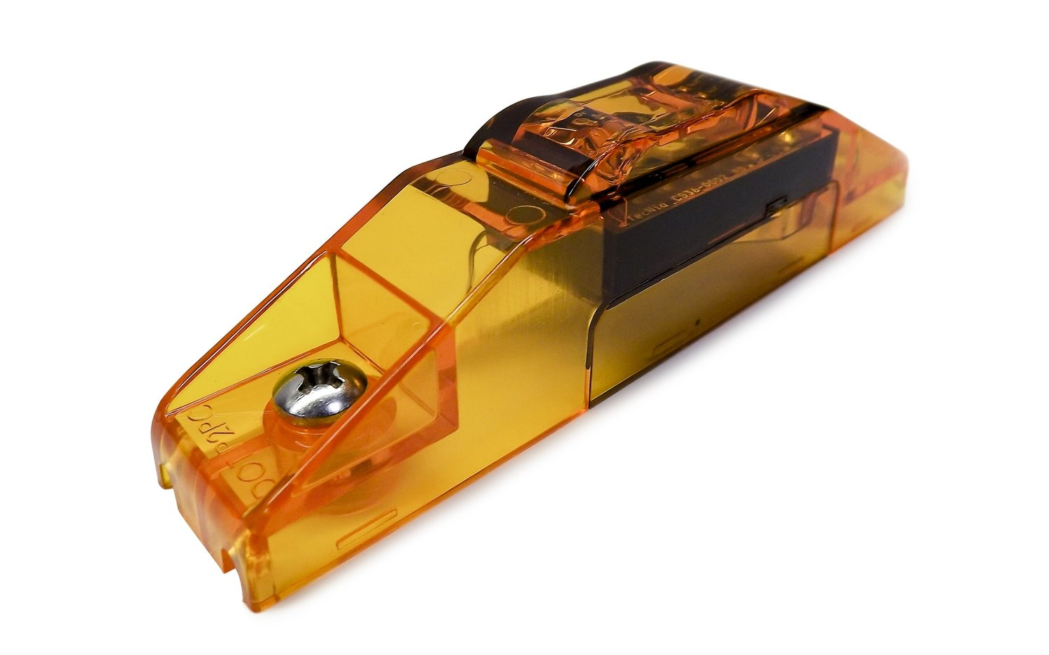 S36 Amber PC Sidemarker Clear Lens