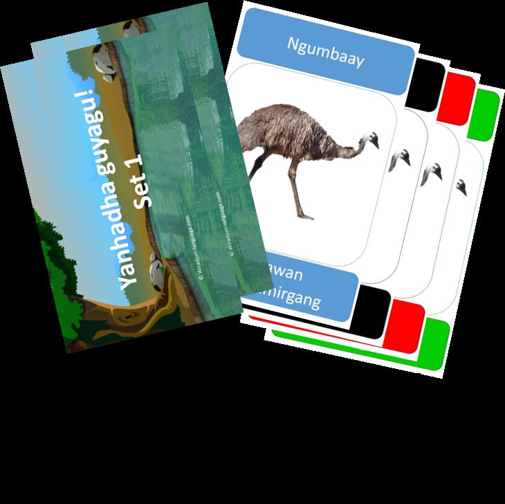 Yanhadha guyagu - Go fish cards (set 1)