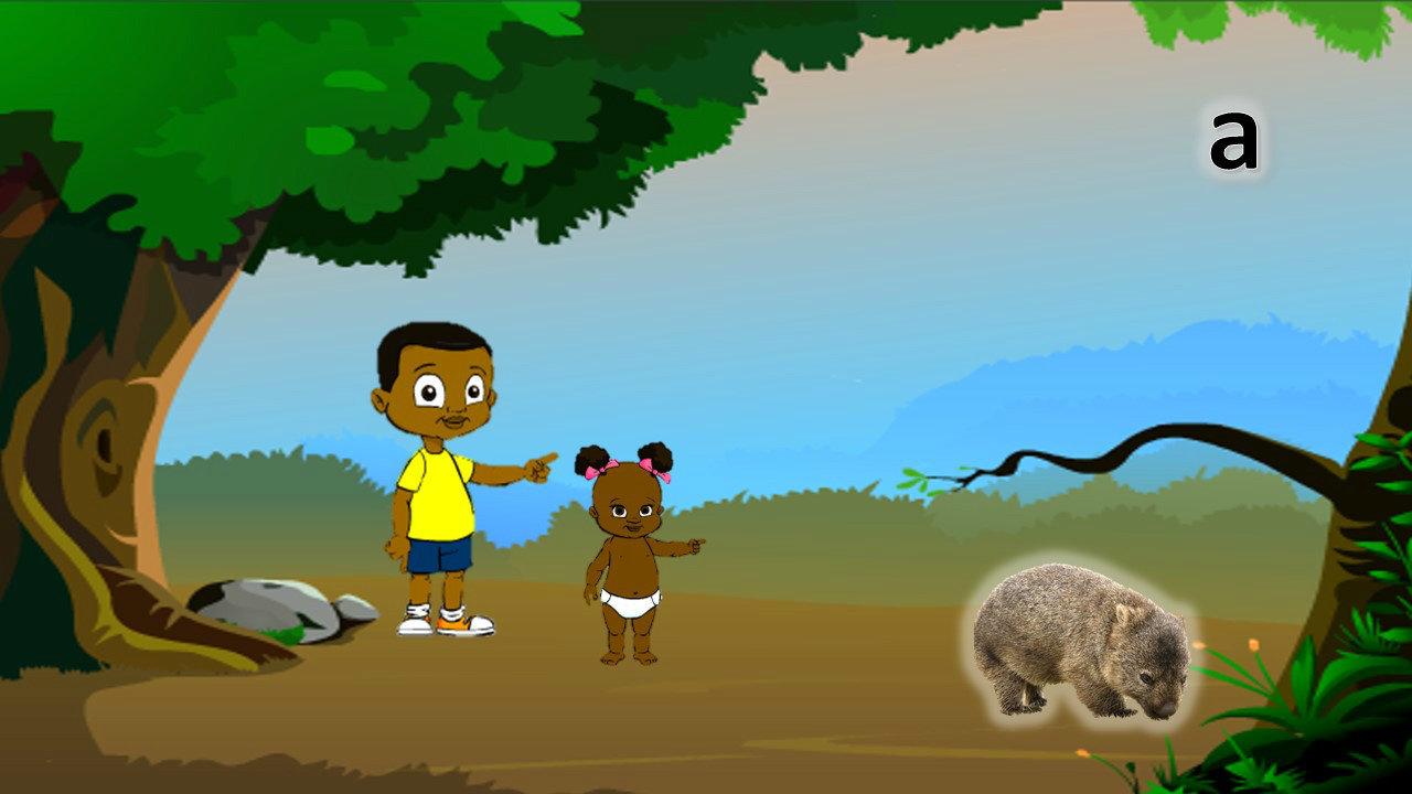 Animals Book 6 - Wiradjuri Language and Sound book