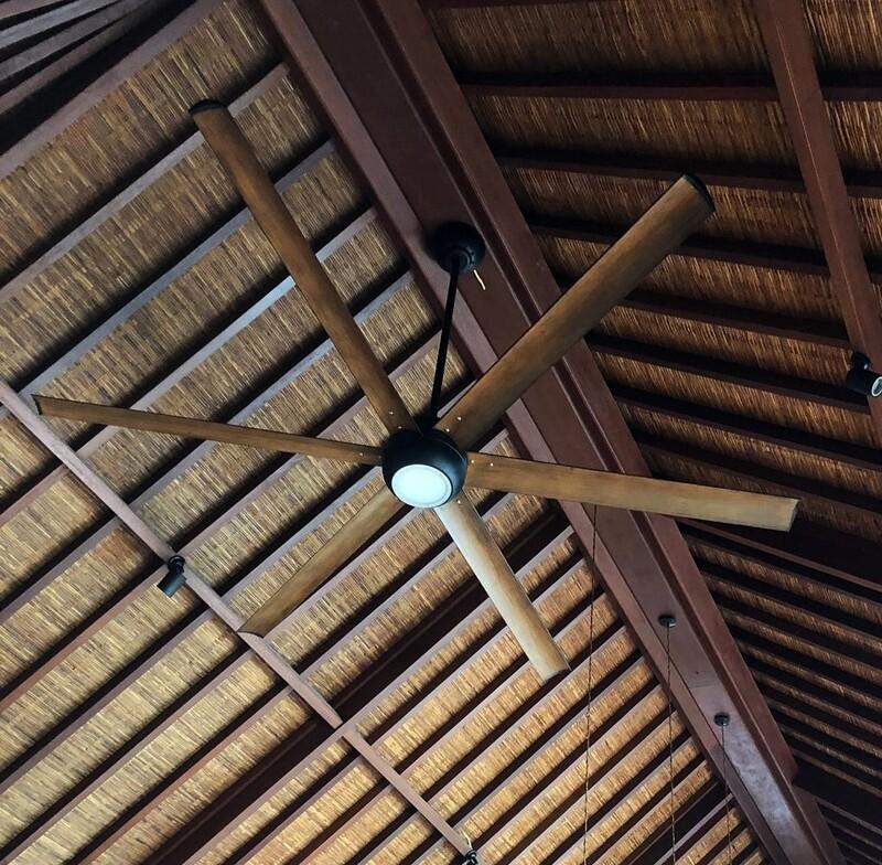 AIRLUX 250 - Ventilador de techo con Luz madera