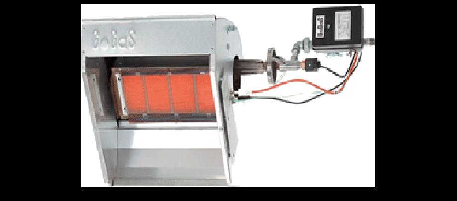 Calefactor industrial   Modelo KMI