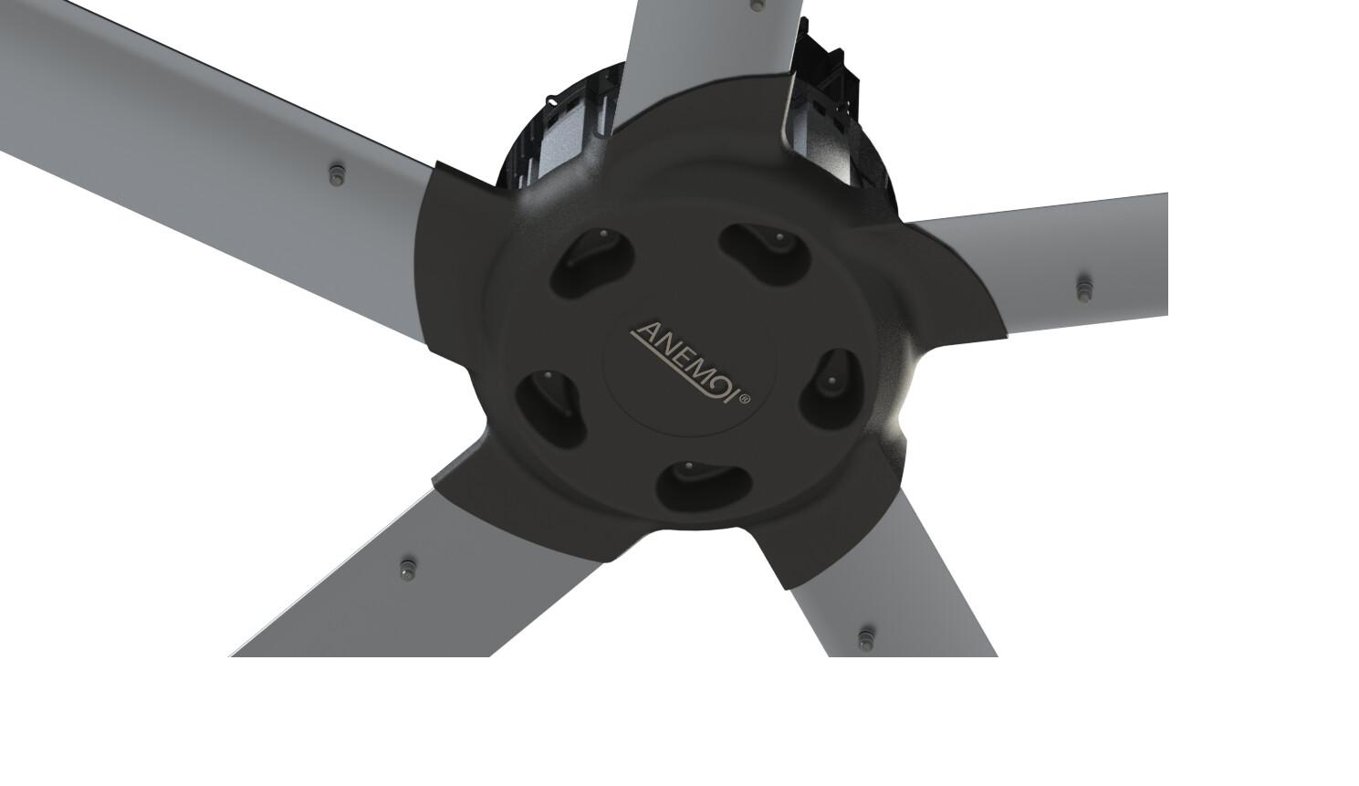 AirMax 400W - Ventilador de techo industrial HVLS IP65