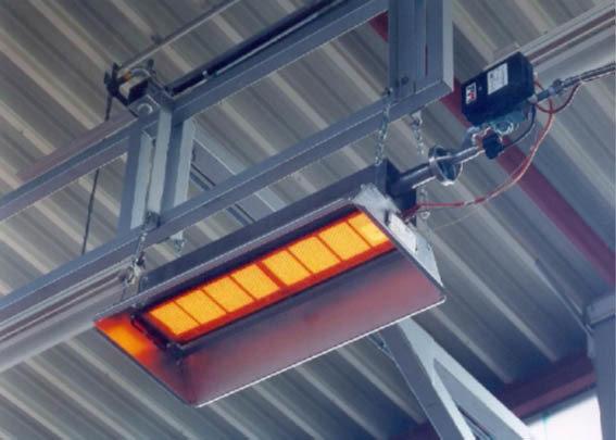 Calefacción industrial a gas | Modelo M