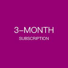 3 Month Subscription (6 16oz bottles) - Elderberry Syrup