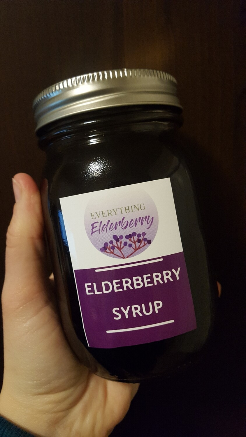 16oz Elderberry Syrup