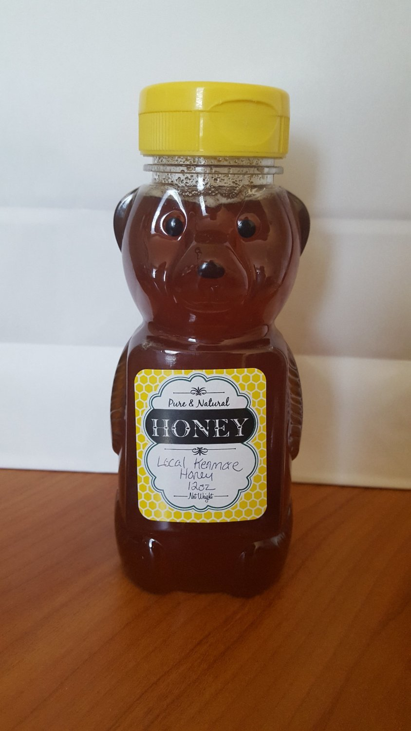Raw Local Puget Sound Honey