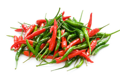 Red & Green Bird's Eye (Thai) Chili