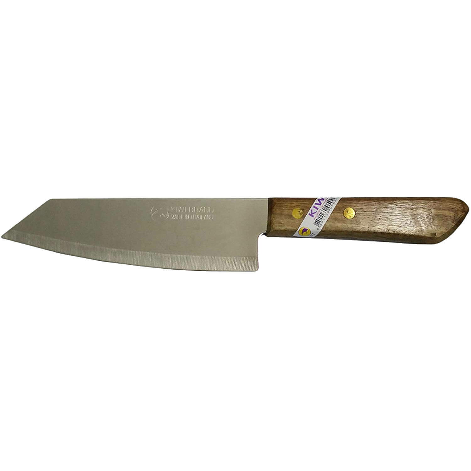 "11"" Knife with sharp point and wood handle"