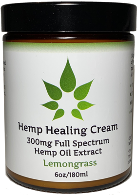 MedJoy™ Full Spectrum Hemp Oil Pain Relief Cream with 300mg 6oz - Intensive Pain Relief!