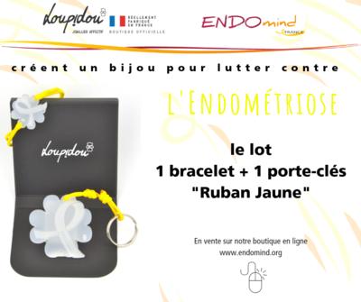 Lot Bracelet + Porte-clés Loupidou