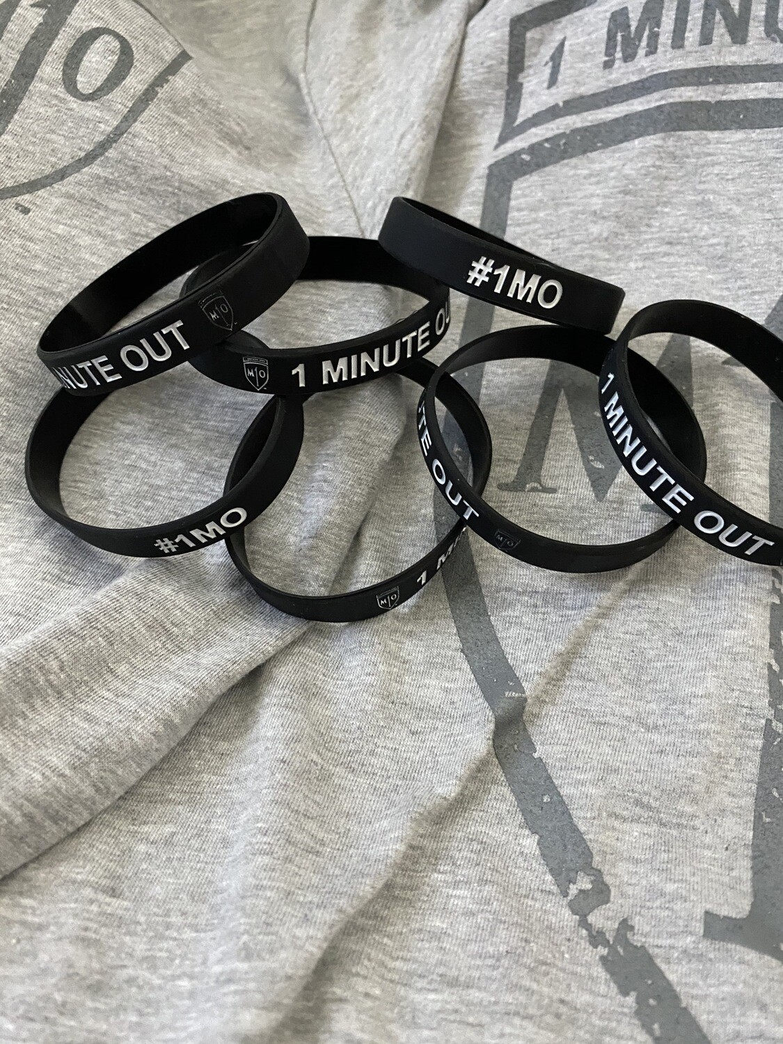 NEW - 1 Minute Out Silicone Bracelet