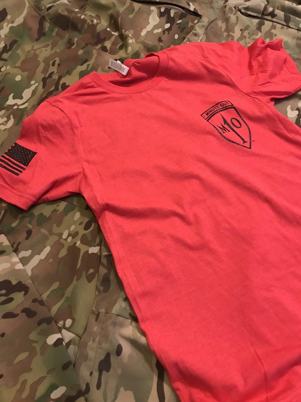 XXLARGE-1MO Red NVG Operator Flag Shirt