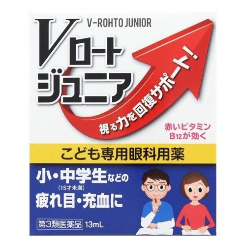 Глазные капли Rohto Junior