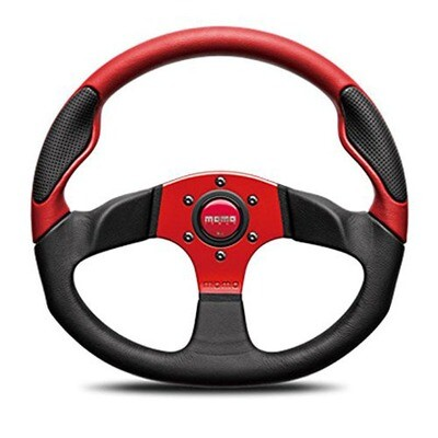 Steering Wheel Momo Command 235Pie Red C–64
