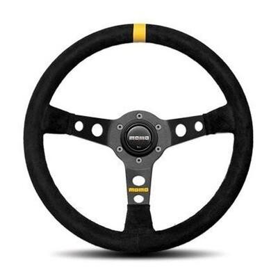 Steering Wheel  Momo Mod. 0735Pie BK/Suede Medium–42