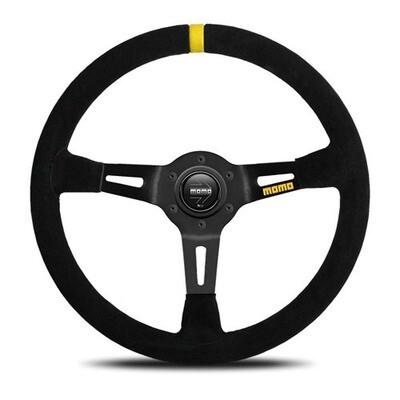 Steering Wheel Momo Mod. 0835Pie BK/Suede Medium–60