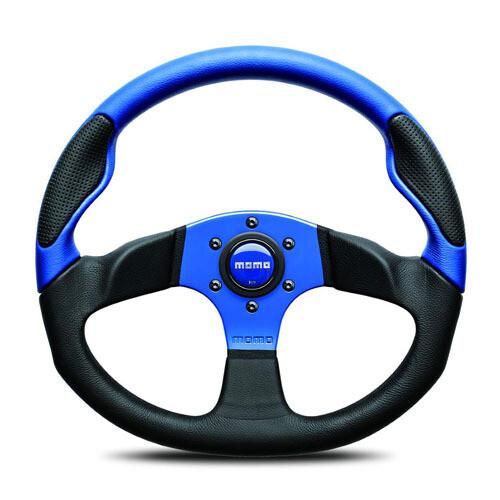 Steering Wheel Momo Command 235Pie Blue C–65