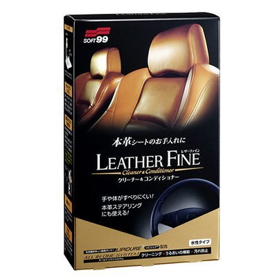 Soft99 Leather Fine Cleaner & Conditioner