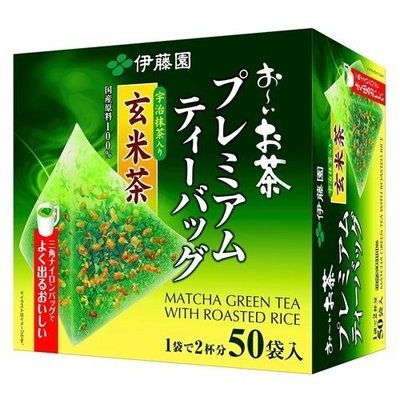 Itoen Oya Matcha Green Tea With Roasted Rice
