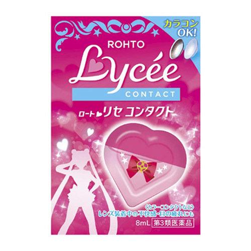Японские капли для глаз Rohto Lycee Sailor Moon