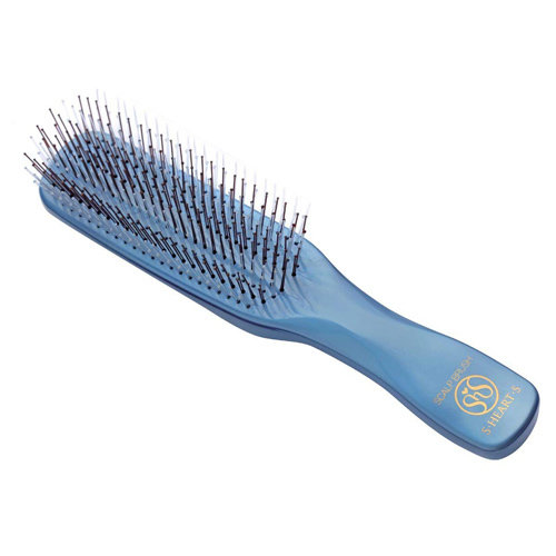 S-Heart-S Blue Scalp Brush