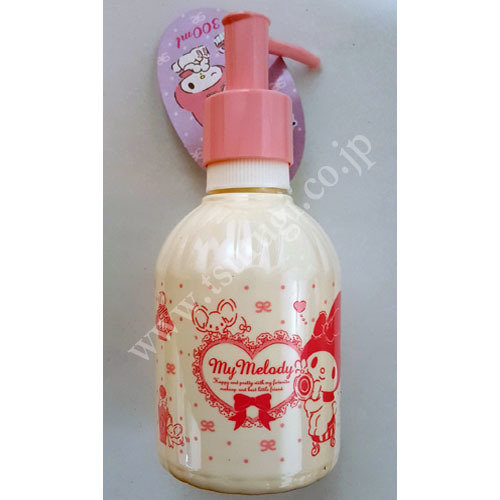My Melody fluffy soap dispencer