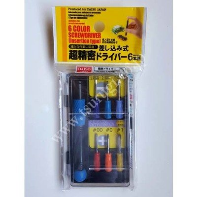6 Color Screwdriver Insertion type