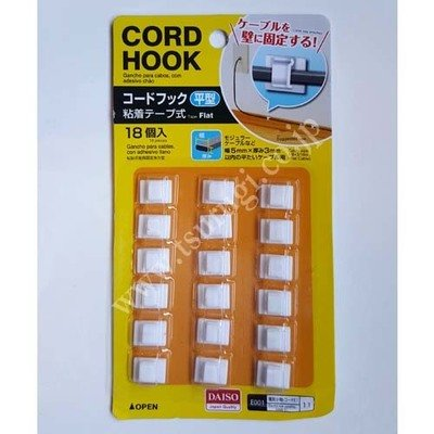 Cord Hook 18pcs
