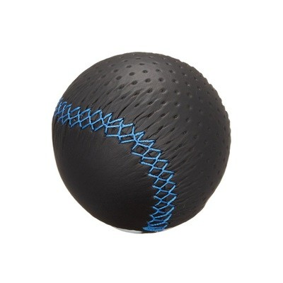 CARMATE RAZO LEATHER KNOB 240 BLUE STITCH
