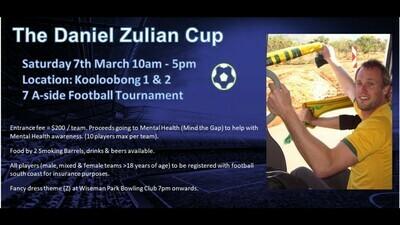 Daniel Zulien Cup Team Entry