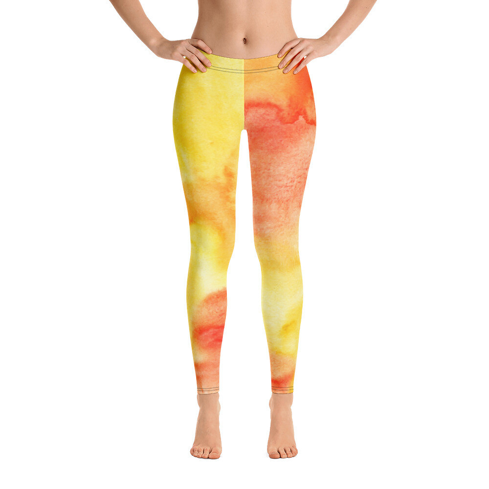 Colourful Printed Leggings for Women