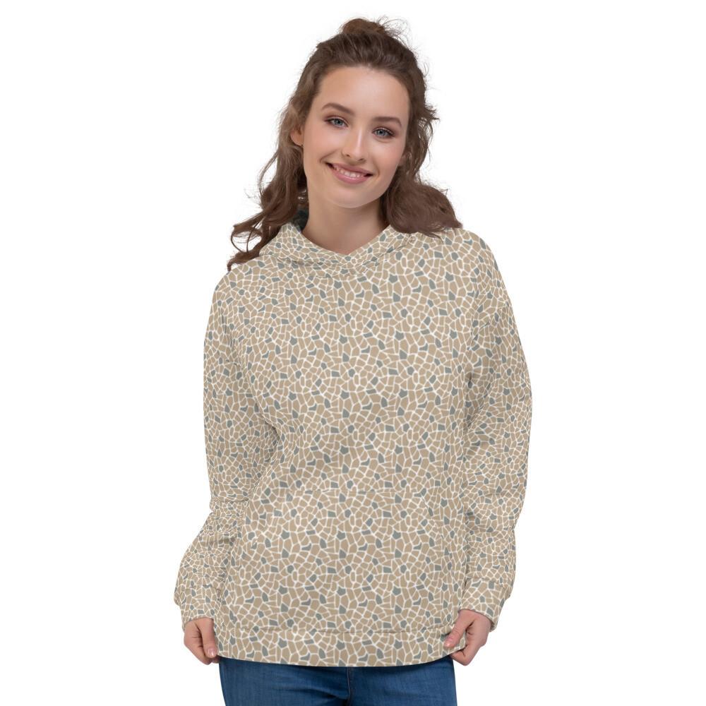 Animal Skin Full Printed Modern Sweatshirt Pullover Unisex Hoodie