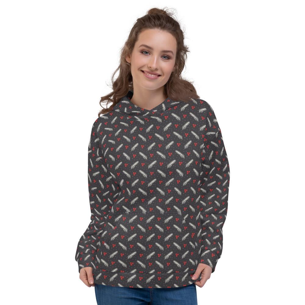 Christmas Pullover Sweatshirt Printed Unisex Hoodie
