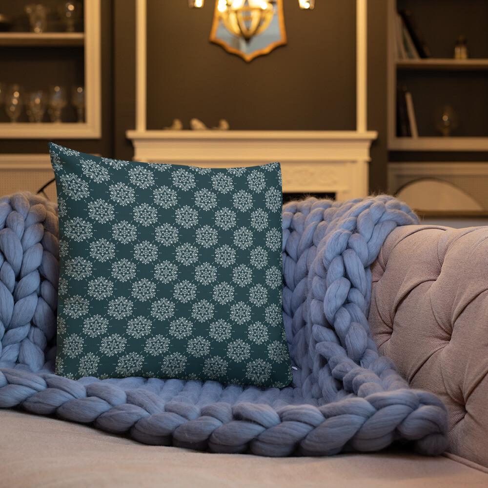 Hisab Premium Throw Pillow