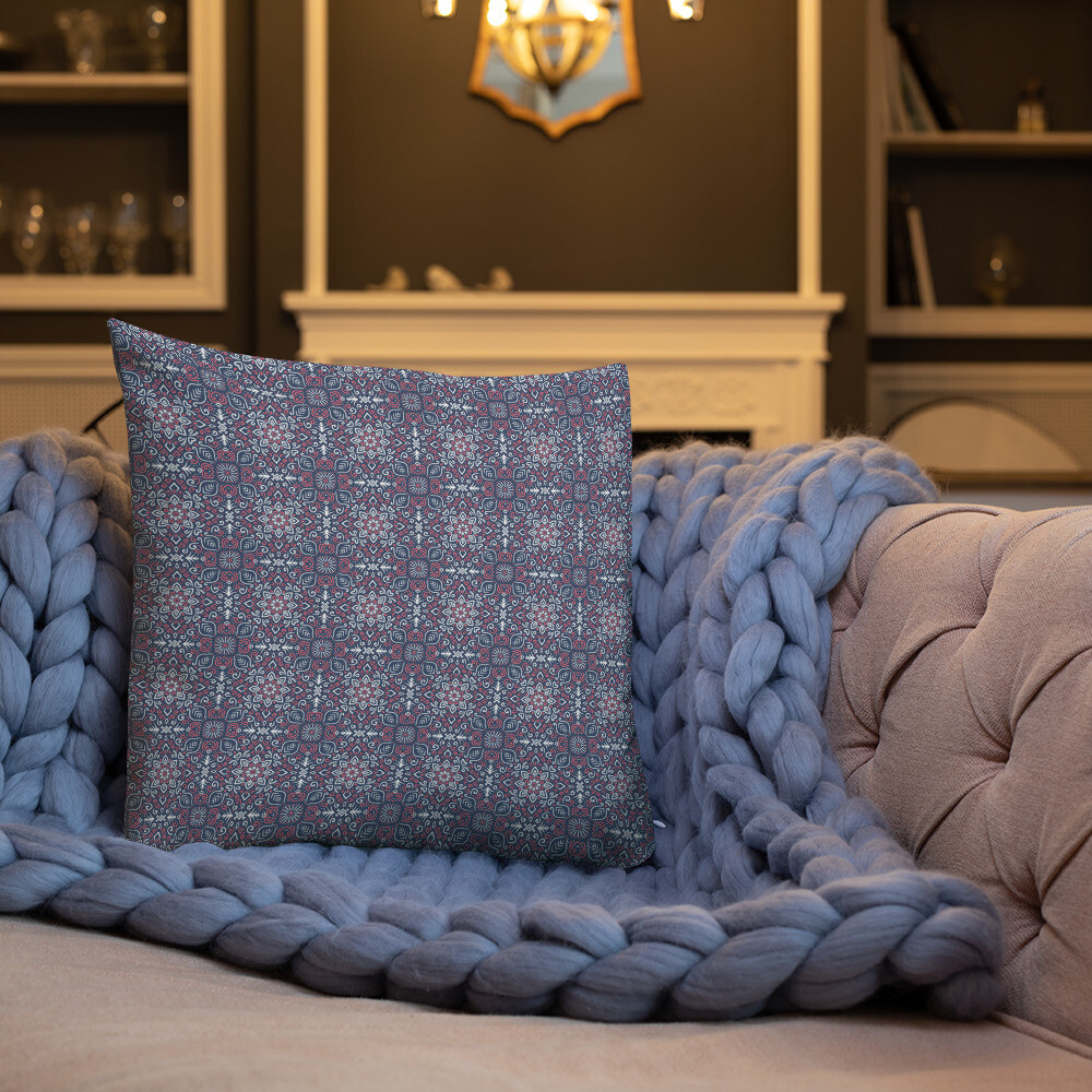 Kisa Premium Throw Pillow