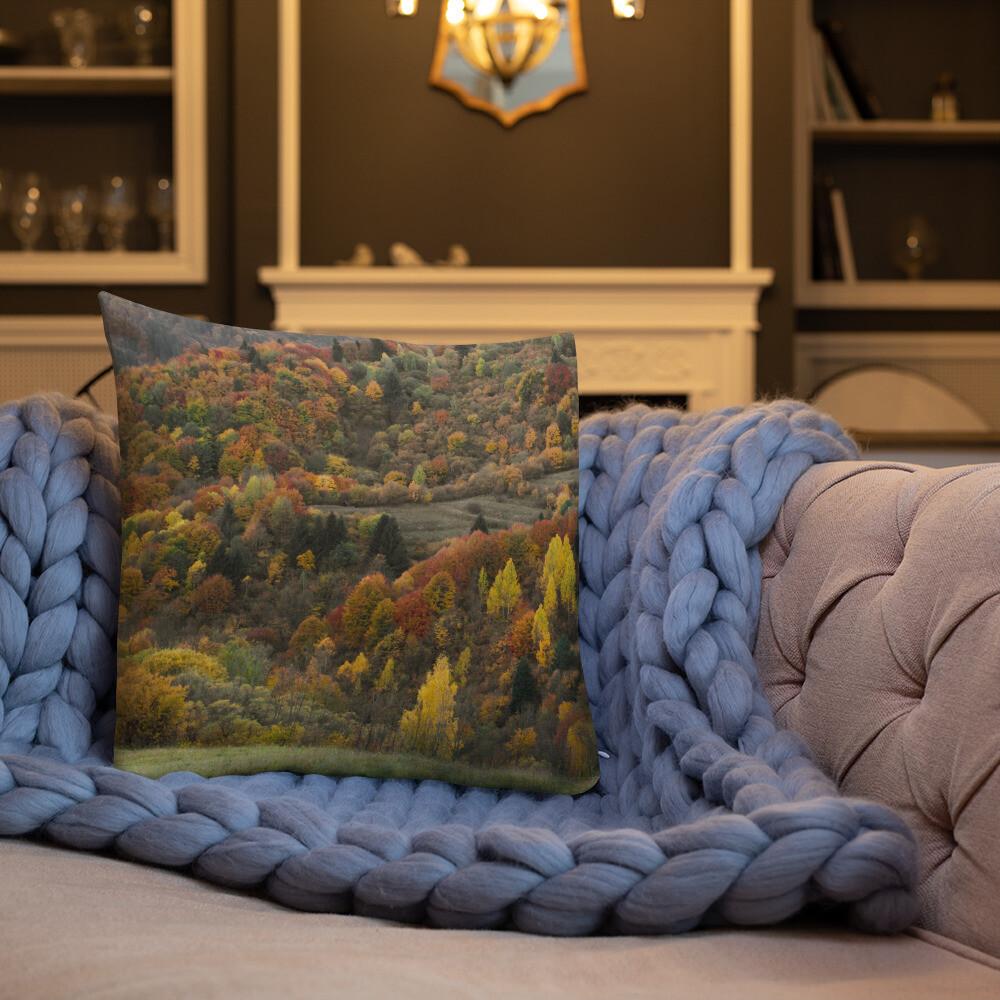 Misa Printed Throw Premium Pillow