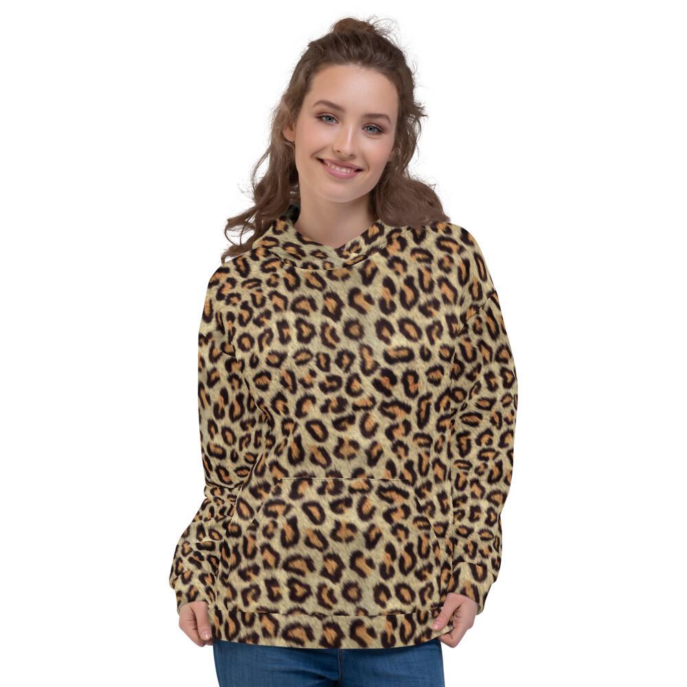 Cheetah Printed Unisex Hoodie